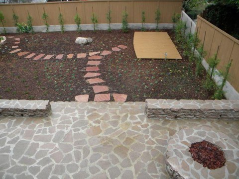 Landscaping work 13