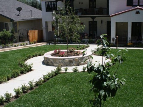 Landscaping work 71