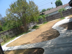 Landscaping work 139