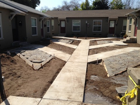 Landscaping work 119