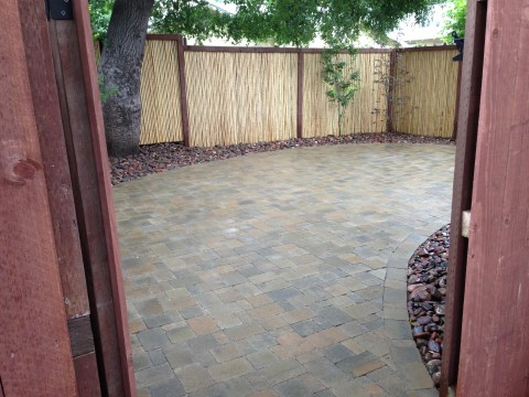 Landscaping work 121