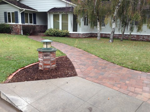 Landscaping work 133