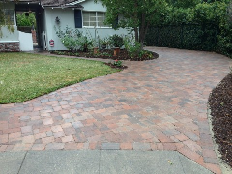 Landscaping work 135