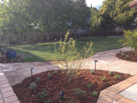 Landscaping work 149