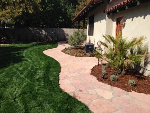 Landscaping work 153