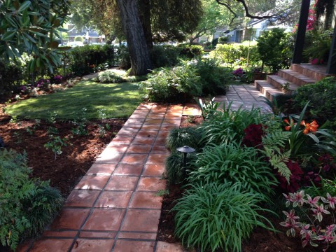 Landscaping work 155